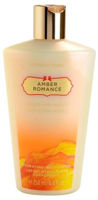 Victoria's Secret Amber Romance Amber & Créme Anglaise leite corporal para mulheres 250 ml