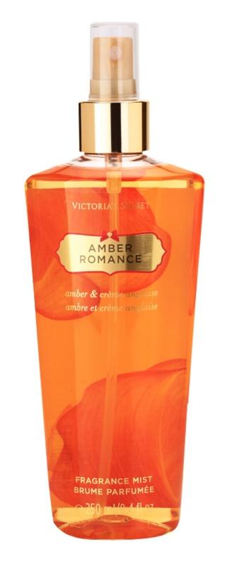 Victoria's Secret Amber Romance Amber & Créme Anglaise Körperspray für Damen 250 ml