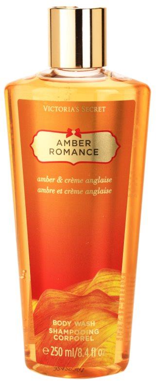 Victoria's Secret Amber Romance Amber & Créme Anglaise  Sprchové gely pro ženy 250 ml sprchový gel