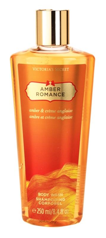 Victoria's Secret Amber Romance Amber & Créme Anglaise  sprchový gél pre ženy 250 ml