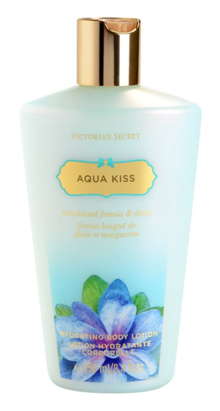 Victoria's Secret Aqua Kiss Rain-kissed Freesia & Daisy leite corporal para mulheres 250 ml