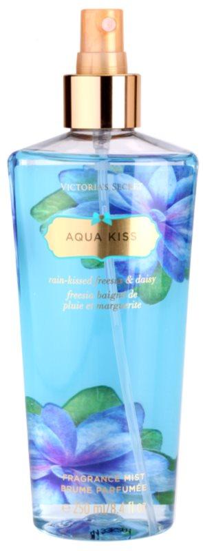 Victoria's Secret Aqua Kiss Rain-kissed Freesia & Daisy Körperspray für Damen 250 ml