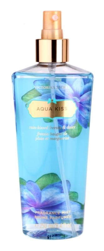 Victoria's Secret Aqua Kiss Rain-kissed Freesia & Daisy telový sprej pre ženy 250 ml