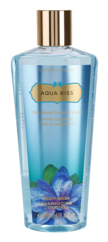 Victoria's Secret Aqua Kiss Rain-kissed Freesia & Daisy gel de dus pentru femei 250 ml