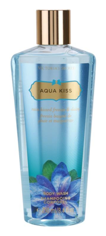 Victoria's Secret Aqua Kiss Rain-kissed Freesia & Daisy sprchový gél pre ženy 250 ml
