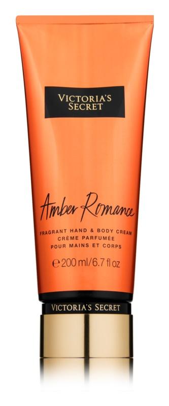 6e5fbc5c1b Victoria s Secret Amber Romance crema corporal para mujer 200 ml