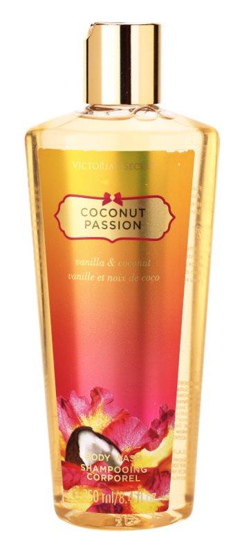 Victoria's Secret Coconut Passion Vanilla & Coconut gel de dus pentru femei 250 ml