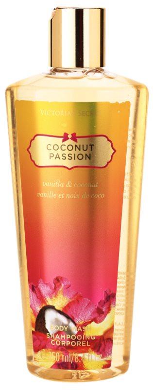 Victoria's Secret Coconut Passion Vanilla & Coconut tusfürdő nőknek 250 ml