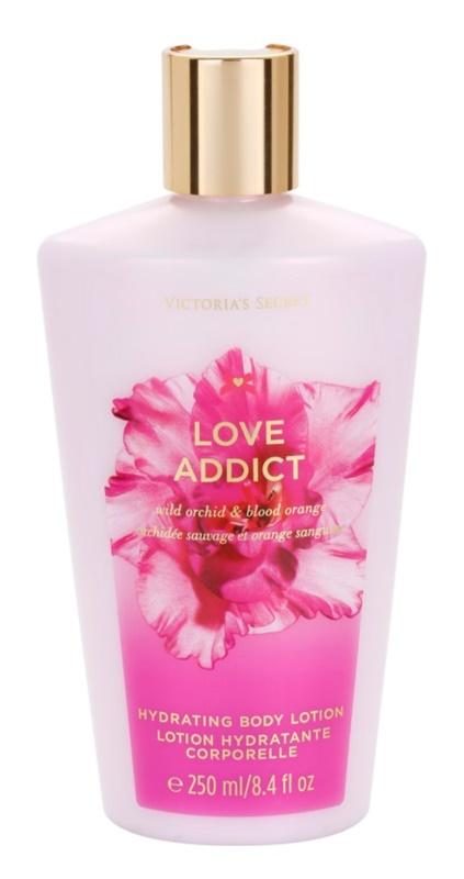 Victoria's Secret Love Addict Wild Orchid & Blood Orange Körperlotion für Damen 250 ml
