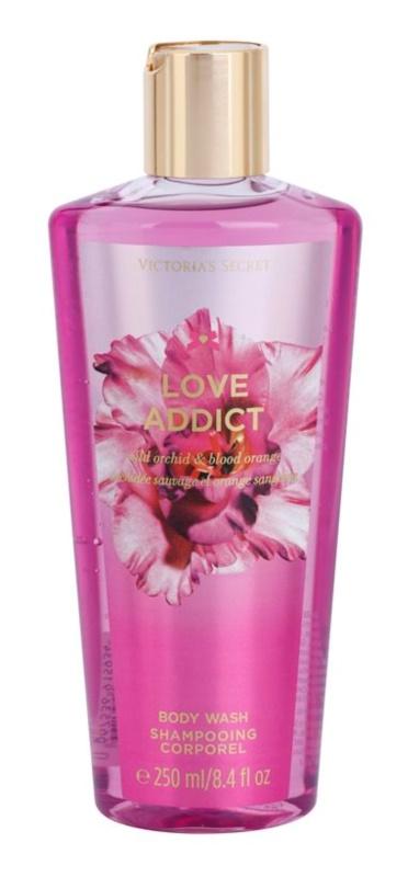 Victoria's Secret Love Addict Wild Orchid & Blood Orange gel de dus pentru femei 250 ml
