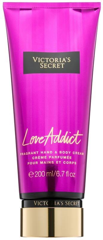 Victoria's Secret Love Addict tělový krém pro ženy 200 ml