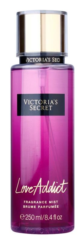 Victoria's Secret Fantasies Love Addict testápoló spray nőknek 250 ml