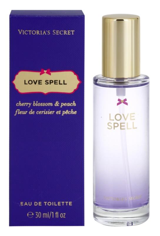 Victoria's Secret Love Spell Cherry Blossom & Peach Eau de Toilette für Damen 30 ml