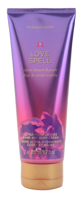 Victoria's Secret Love Spell Cherry Blossom & Peach Körpercreme für Damen 200 ml