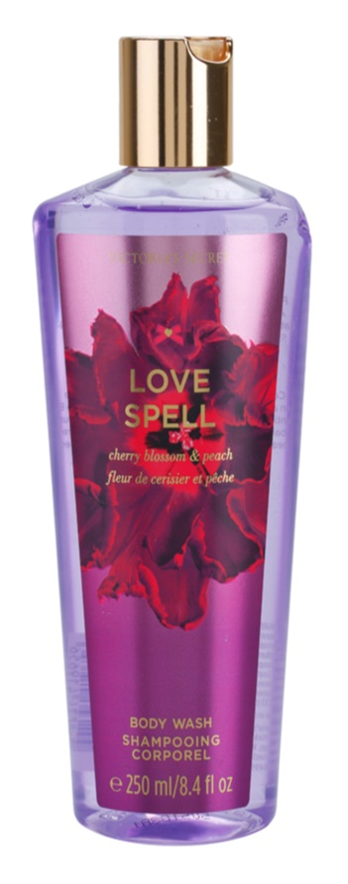 Victoria's Secret Love Spell Cherry Blossom & Peach gel douche pour femme 250 ml