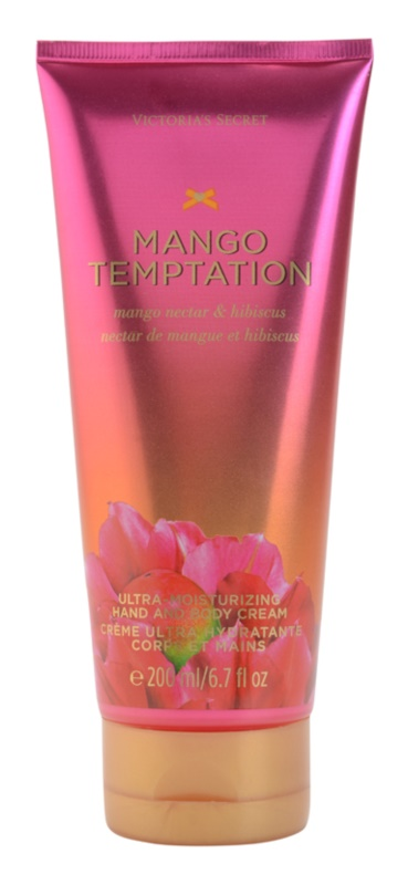 Victoria's Secret Mango Temptation Mango Nectar & Hibiscus Body Cream for Women 200 ml
