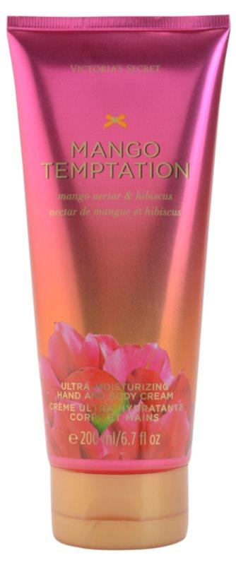 Victoria's Secret Mango Temptation Mango Nectar & Hibiscus Körpercreme für Damen 200 ml