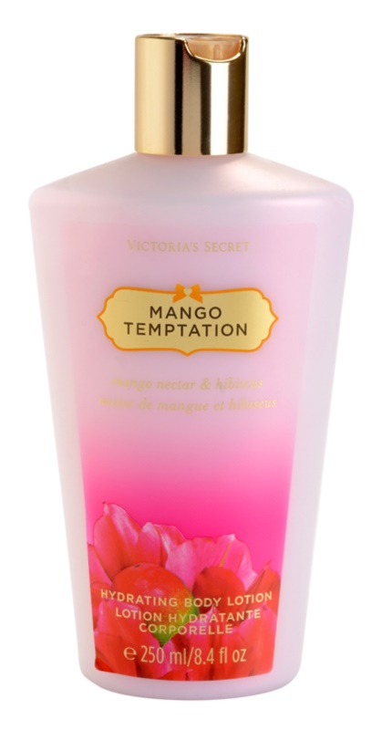 Victoria's Secret Mango Temptation Mango Nectar & Hibiscus leite corporal para mulheres 250 ml