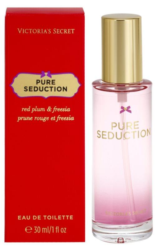 Victoria's Secret Pure Seduction Red Plum & Fresia  eau de toilette pentru femei 30 ml