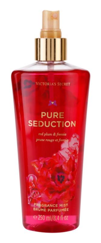 Victoria's Secret Pure Seduction Red Plum & Fresia spray do ciała dla kobiet 250 ml