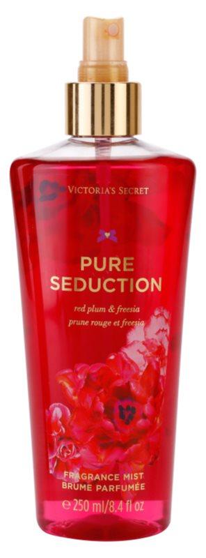 Victoria's Secret Pure Seduction Red Plum & Fresia  testápoló spray nőknek 250 ml