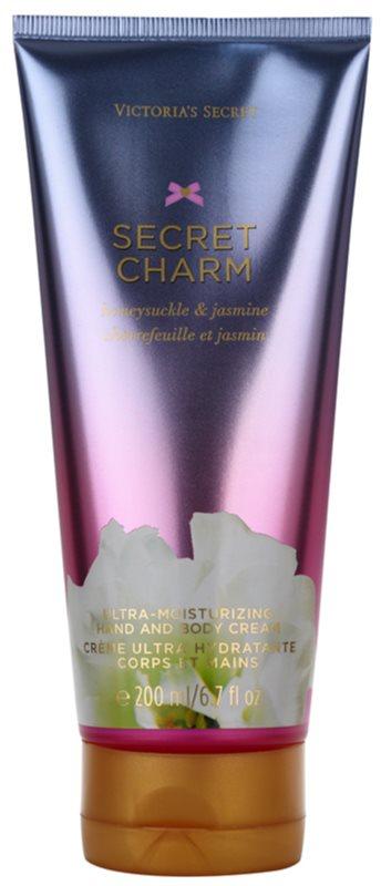 Victoria's Secret Secret Charm Honeysuckle & Jasmine Bodycrème voor Vrouwen  200 ml
