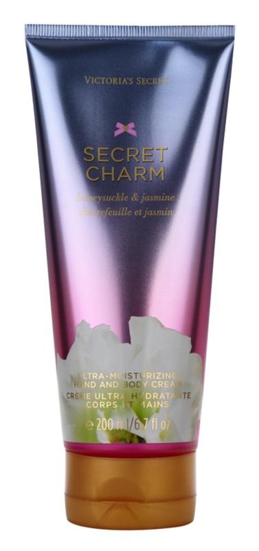 Victoria's Secret Secret Charm Honeysuckle & Jasmine tělový krém pro ženy 200 ml