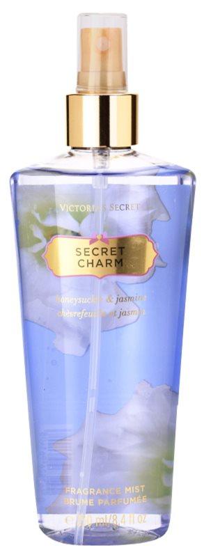 Victoria's Secret Secret Charm Honeysuckle & Jasmine tělový sprej pro ženy 250 ml