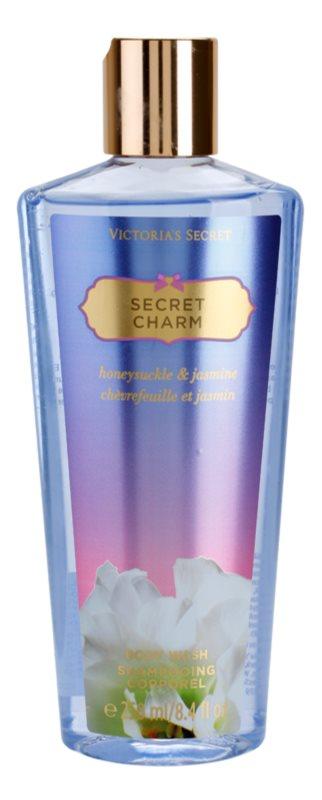 Victoria's Secret Secret Charm Honeysuckle & Jasmine sprchový gel pro ženy 250 ml