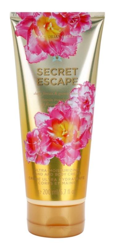Victoria's Secret Secret Escape Sheer Freesia & Guava Flowers crema de corp pentru femei 200 ml