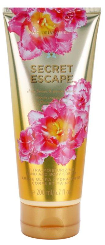 Victoria's Secret Secret Escape Sheer Freesia & Guava Flowers Körpercreme für Damen 200 ml