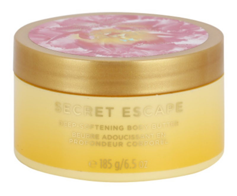 Victoria's Secret Secret Escape Sheer Freesia & Guava Flowers manteiga corporal para mulheres 185 g