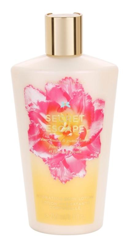Victoria's Secret Secret Escape Sheer Freesia & Guava Flowers leite corporal para mulheres 250 ml
