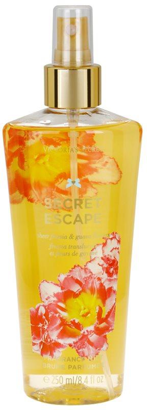 Victoria's Secret Secret Escape Sheer Freesia & Guava Flowers Körperspray für Damen 250 ml