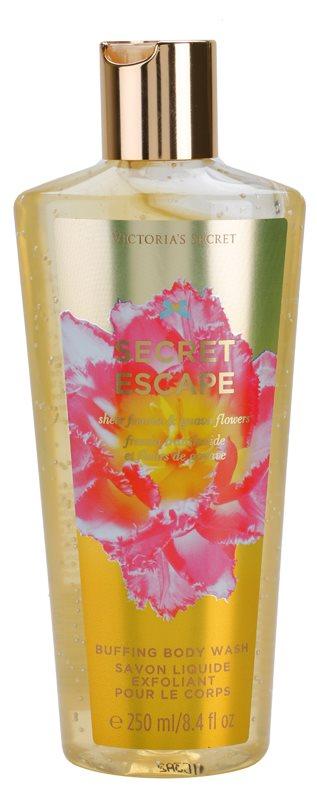 Victoria's Secret Secret Escape Sheer Freesia & Guava Flowers sprchový gel pro ženy 250 ml