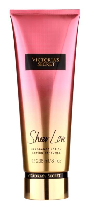 Victoria's Secret Fantasies Sheer Love testápoló tej nőknek 236 ml