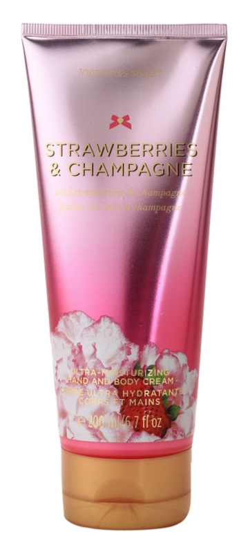 Victoria's Secret Strawberry & Champagne Body Cream for Women 200 ml