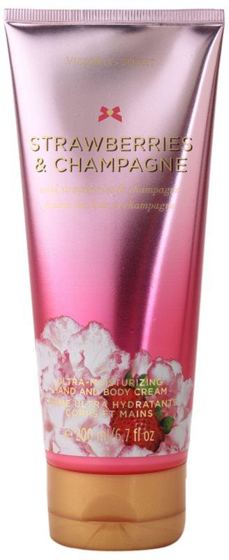 Victoria's Secret Strawberry & Champagne krem do ciała dla kobiet 200 ml