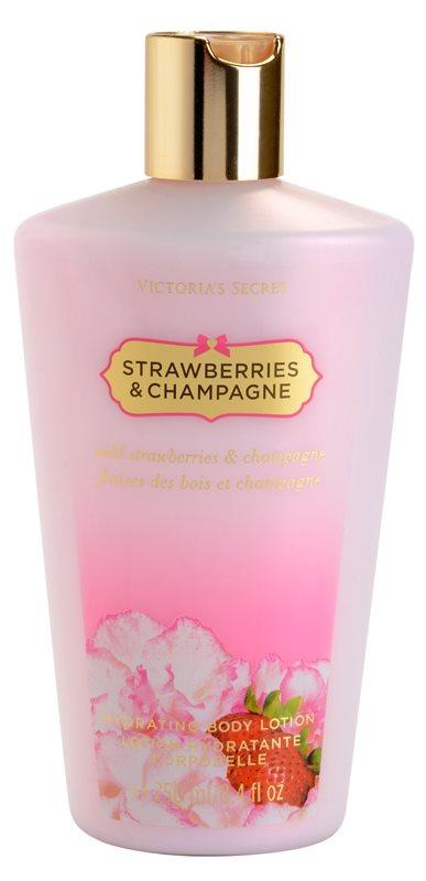 Victoria's Secret Strawberry & Champagne Körperlotion für Damen 250 ml