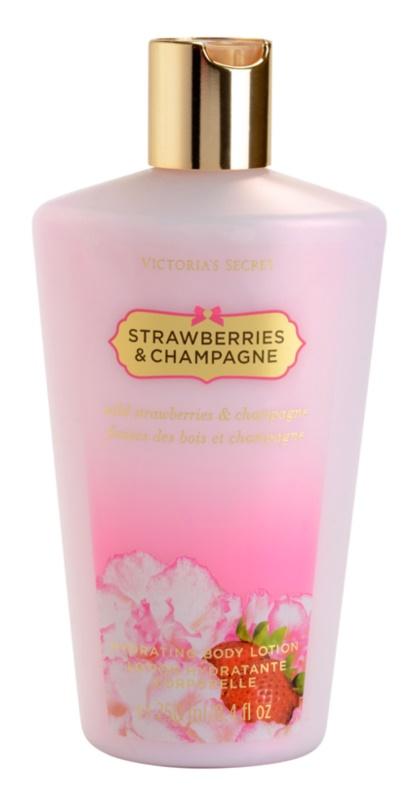 Victoria's Secret Strawberry & Champagne mleczko do ciała dla kobiet 250 ml