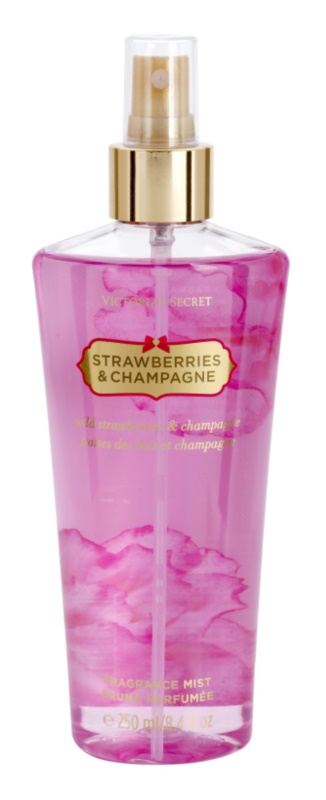 Victoria's Secret Strawberry & Champagne spray do ciała dla kobiet 250 ml