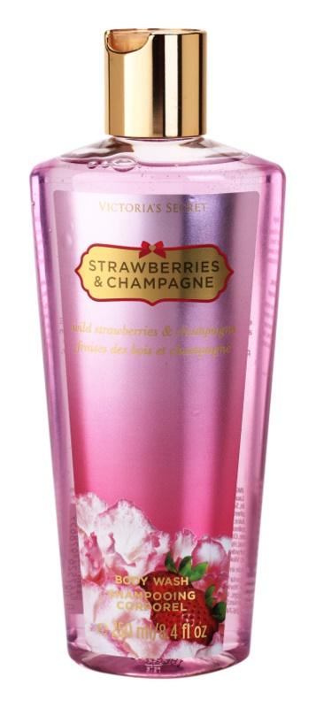 Victoria's Secret Strawberry & Champagne sprchový gel pro ženy 250 ml