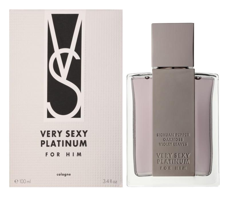 Victoria's Secret Very Sexy Platinum Eau de Cologne for Men 100 ml