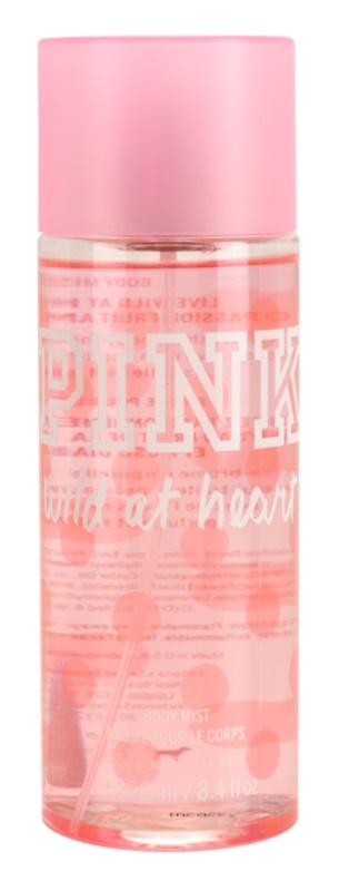 Victoria's Secret PINK Wild at Heart testápoló spray nőknek 250 ml