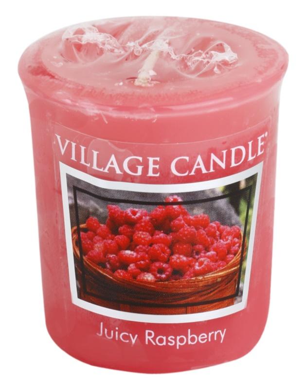 Village Candle Juicy Raspberry viaszos gyertya 57 g