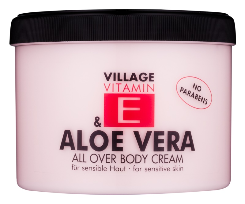 Village Vitamin E Aloe Vera крем для тіла