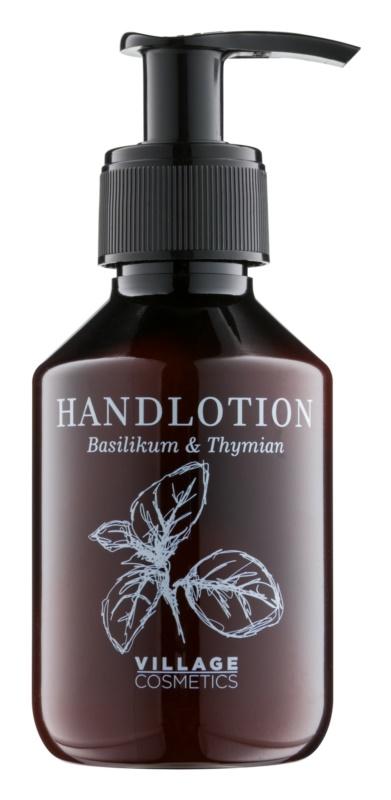 Village Herbal Basil & Thyme krem do rąk
