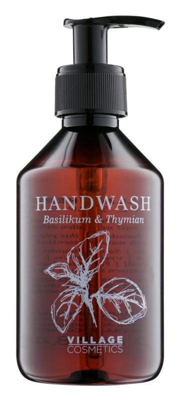 Village Herbal Basil & Thyme tekuté mydlo na ruky
