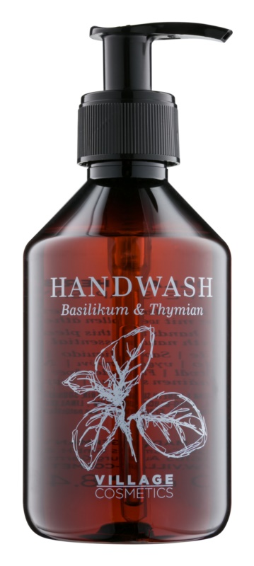 Village Herbal Basil & Thyme рідке мило для рук