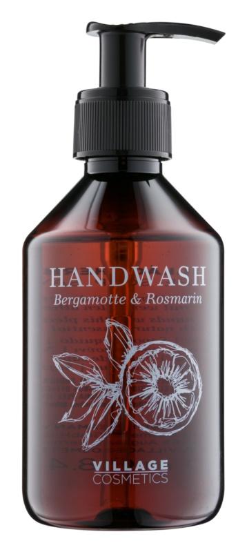Village Herbal Bergamot & Rosemary Săpun lichid pentru mâini